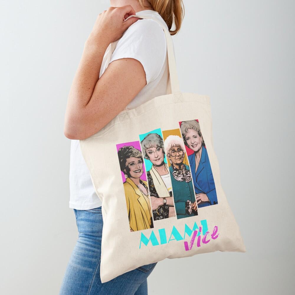 Miami Vice Tote Bag