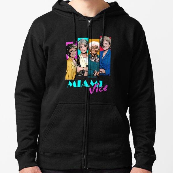 Miami Vice Veste zippée à capuche