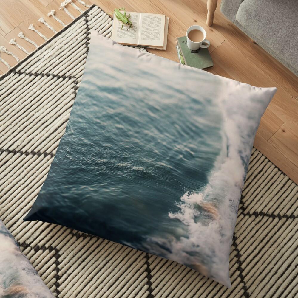 Song of the Spirit Floor Pillow