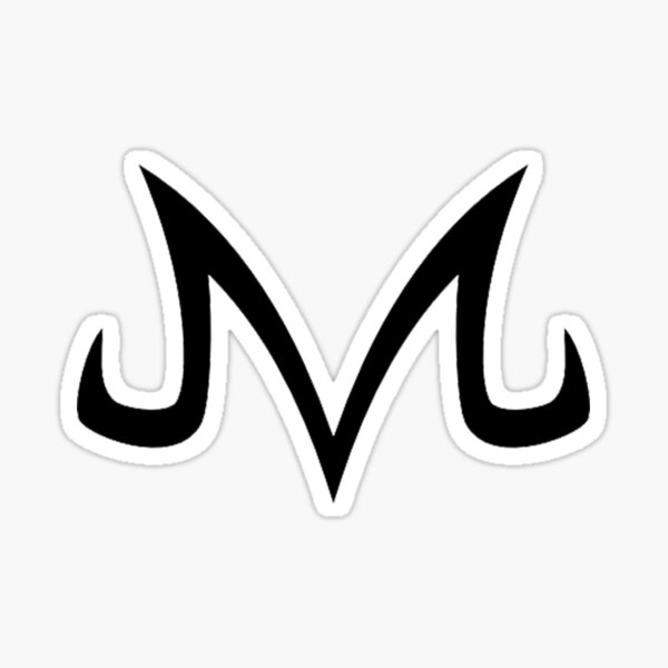 Logo Majin Sticker