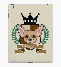Chihuahua Coat of Arms iPad Case/Skin