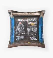 C215 Amsterdam Throw Pillow