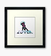 DJ EDM Lover-lbp Framed Print