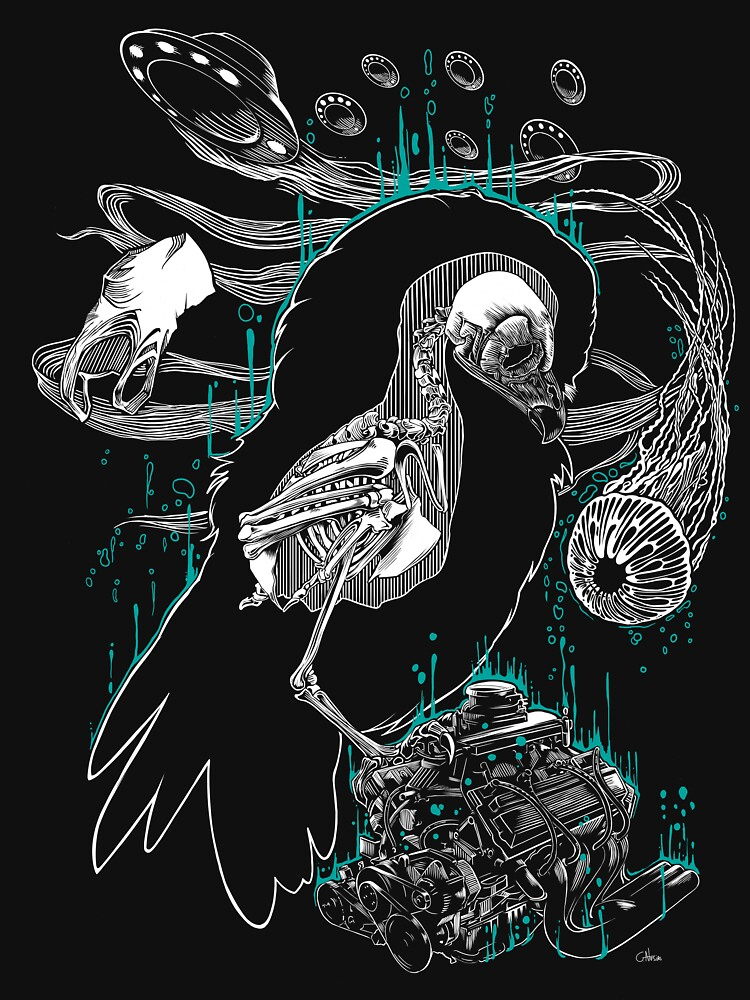 «Meditative owl» par genosias