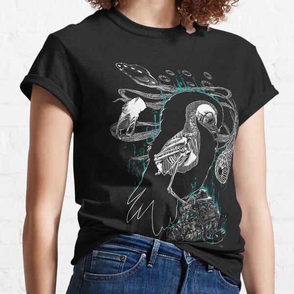 Meditative owl T-shirt classique