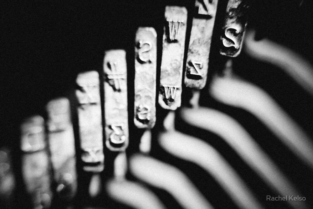 typewriter by Rachel Kelso