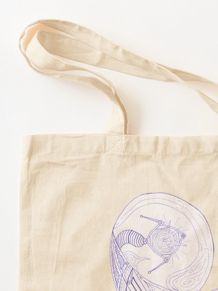 Alternate view of M.I. #24  ☼  Spotlight Shell Tote Bag