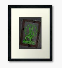 12 Monkeys Dark Framed Print