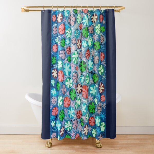 Suddenly Spring Shower Curtain