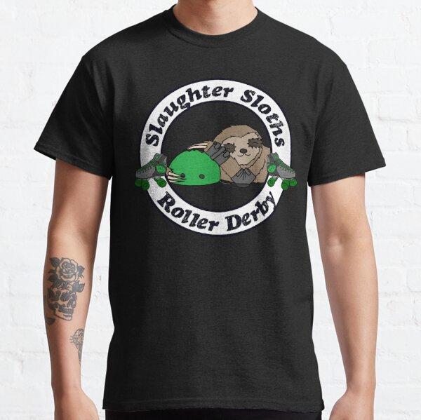 Salughter Sloths Roller Derby Scrim Top 3 Classic T-Shirt