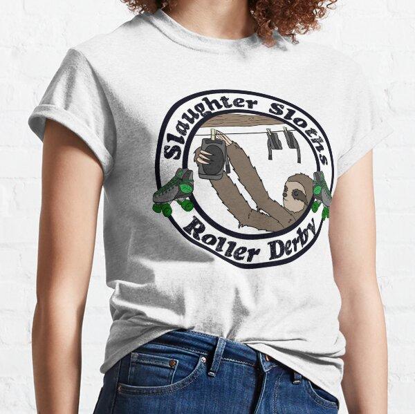 Salughter Sloths Roller Derby Scrim Top 4 Classic T-Shirt
