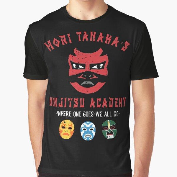 3 Ninjas style Ninjitsu School Shirt Graphic T-Shirt