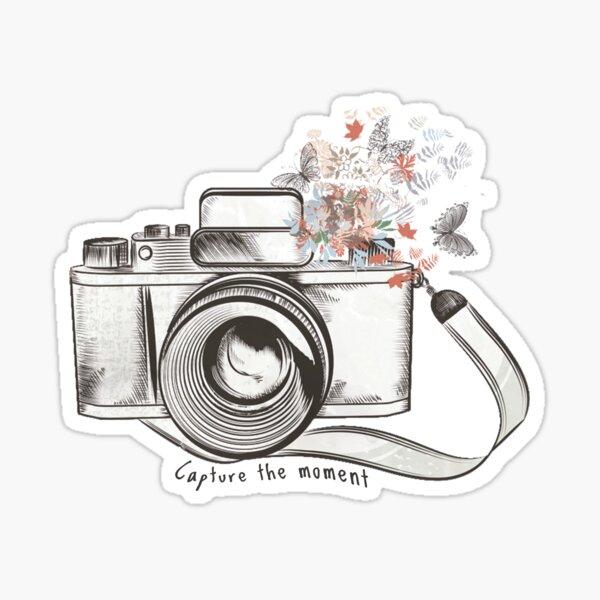 Capture the Moment Sticker
