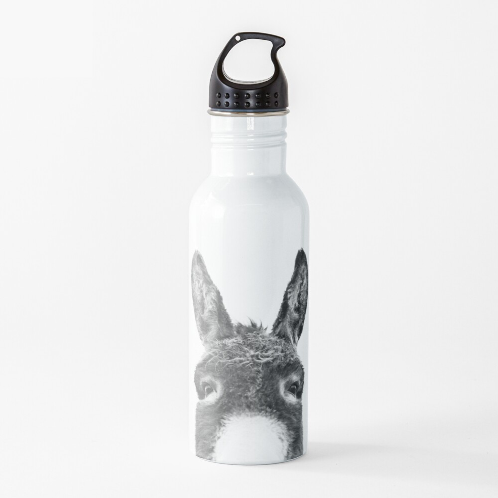 Peeking Donkey Water Bottle