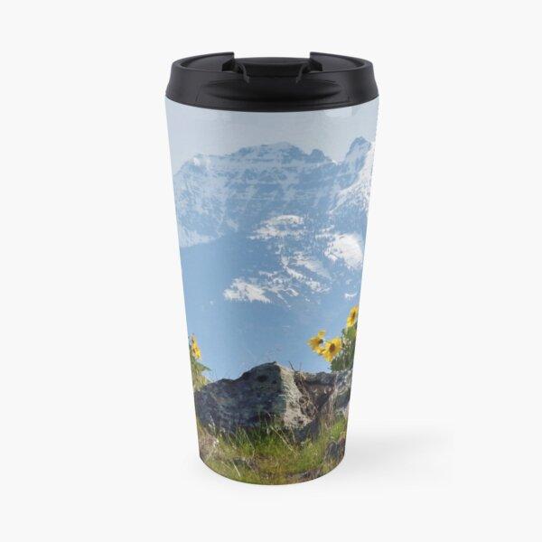 Mission Mountains Balsamroot Travel Mug