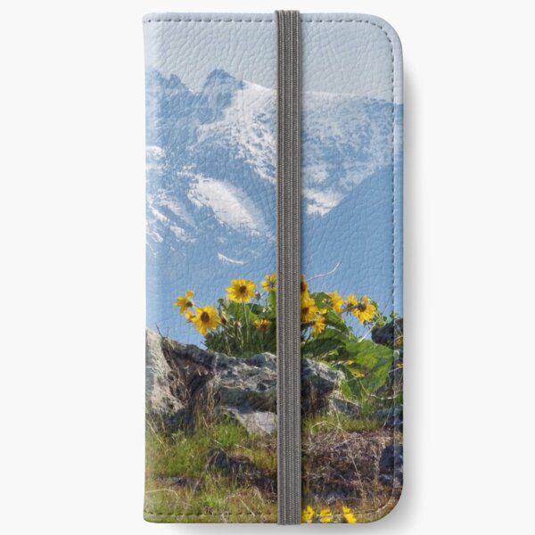 Mission Mountains Balsamroot iPhone Wallet