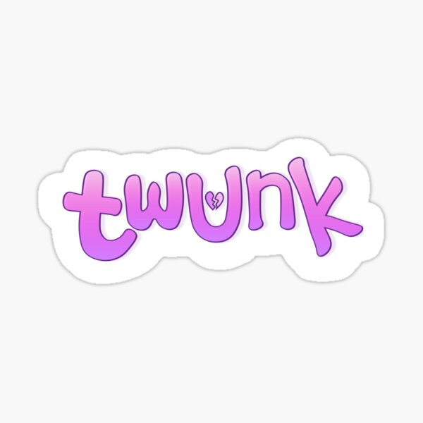 TWUNK Sticker