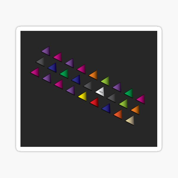27 Puzzle Sticker