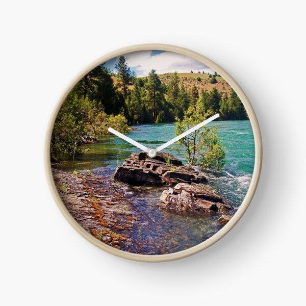 Lower Flathead River Clock