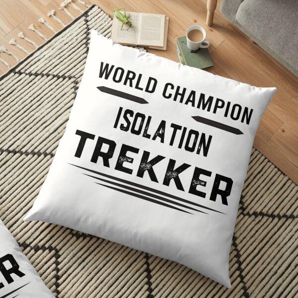 World Champion Isolation Trekker Floor Pillow