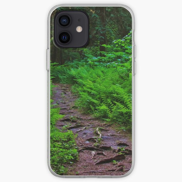 Path to the Old Cedars iPhone Soft Case