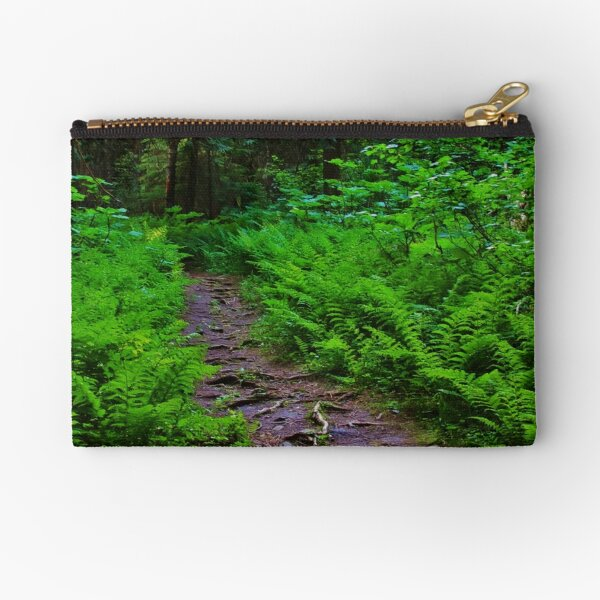 Path to the Old Cedars Zipper Pouch