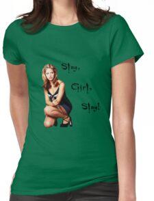 Slay, Girl, Slay! - Buffy Womens Fitted T-Shirt