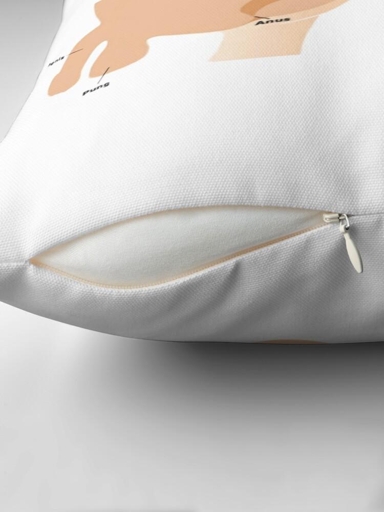 Alternate view of P.L.Ä.P Throw Pillow
