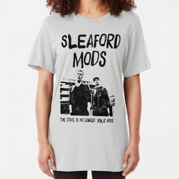 Sleaford Mods - State is No Longer Your Voice Slim Fit T-Shirt