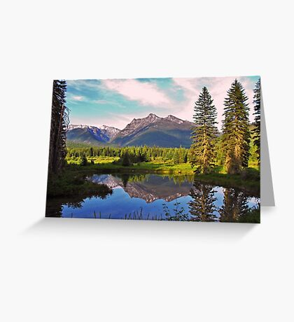 Montana Cabinet Mountains Greeting Card