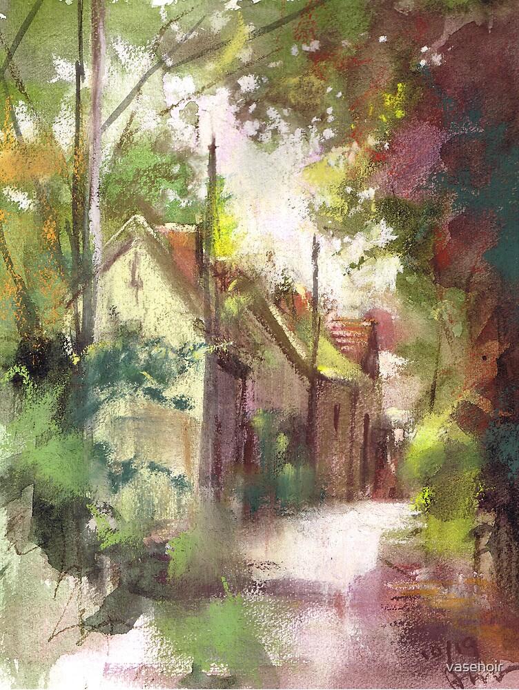 Sketch of France ...Barbizon Village de Peintres by vasenoir