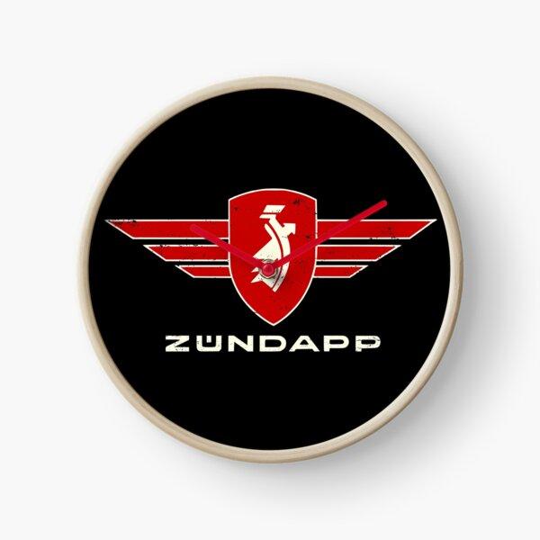 Zündapp Logo Emblem Retro  distressed Motorrad  Uhr