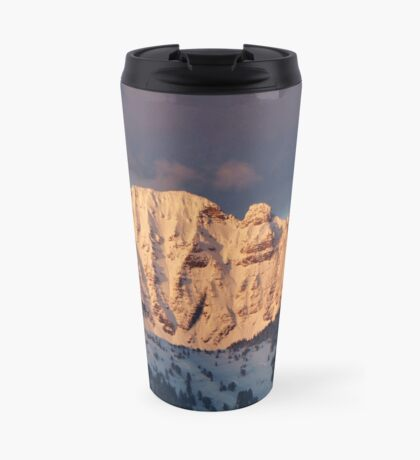 Snow Capped Missions Travel Mug