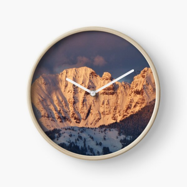 Snow Capped Missions Clock