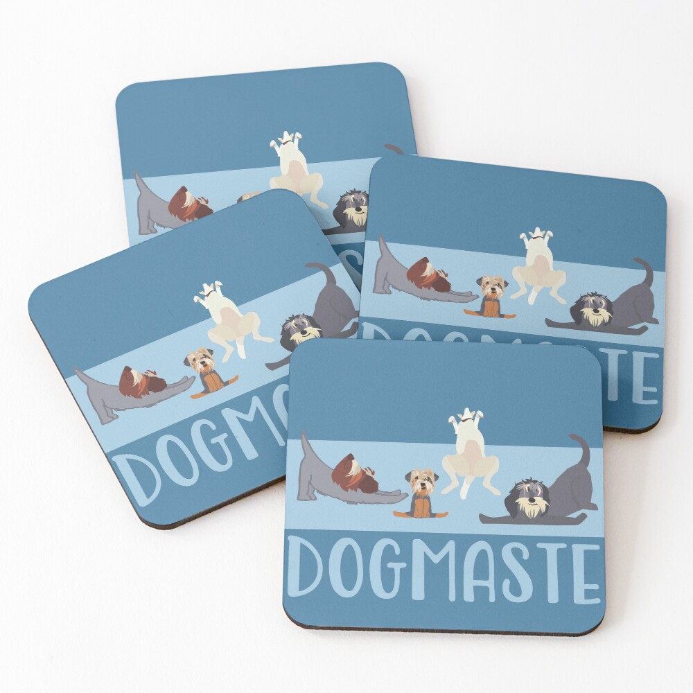 NAMASTE CREW II Coasters (Set of 4)