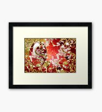 Abstract Fractal Jewel Framed Print