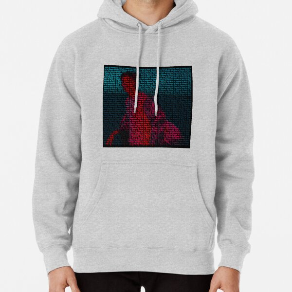 Hi This Is Flume Text Print Pullover Hoodie
