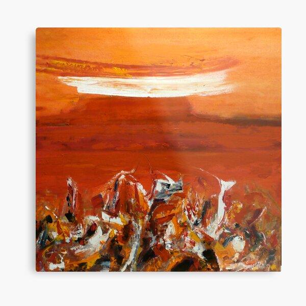 Red Earth-Western Australia  Metal Print