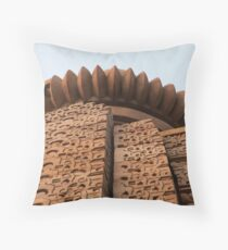 Sandstone Shapes Throw Pillow