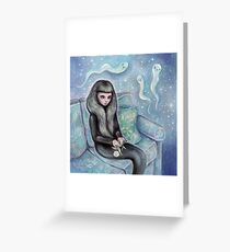 Ghost Party Greeting Card