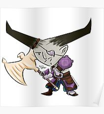 Chibi Bull Poster