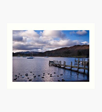 Early Morning at Windermere Art Print