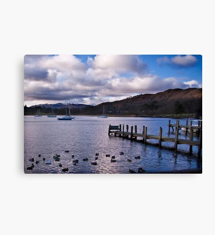 Early Morning at Windermere Canvas Print