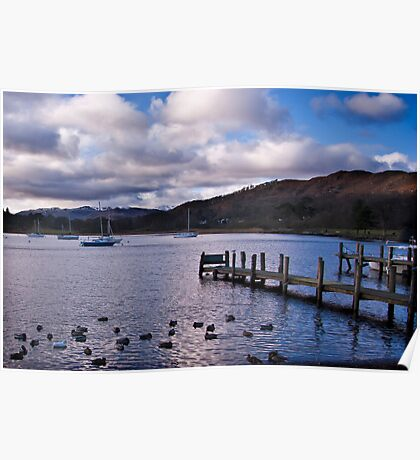 Early Morning at Windermere Poster