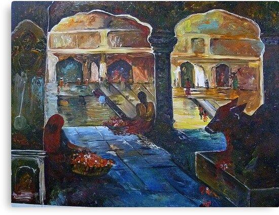 The Temple by fehmida haider