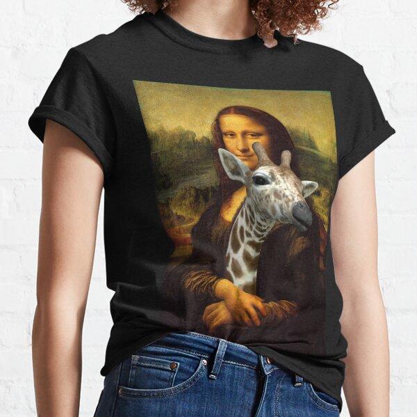 La Joconde aime les girafes T-shirt classique