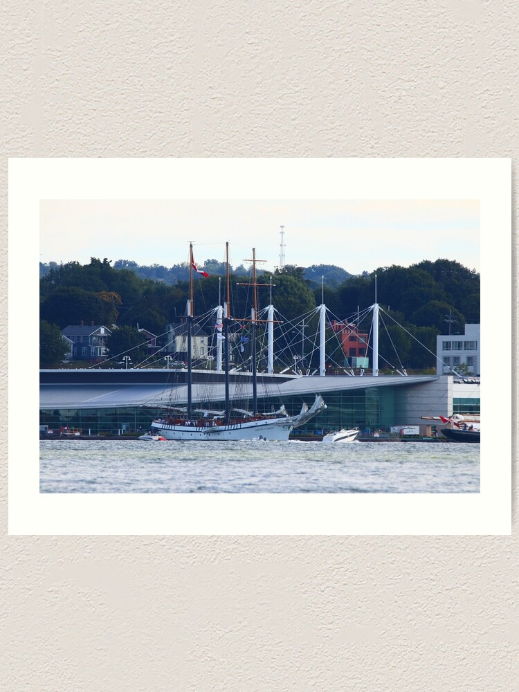 Alternate view of The Empire Sandy in Tall Ships Erie 2019 Art Print