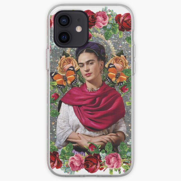 Frida pop art iPhone Soft Case