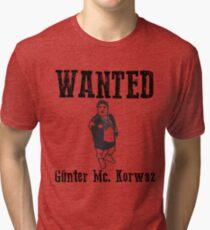 Günter Mc. Korvas Tri-blend T-Shirt