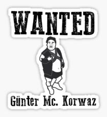 Günter Mc. Korvas Sticker